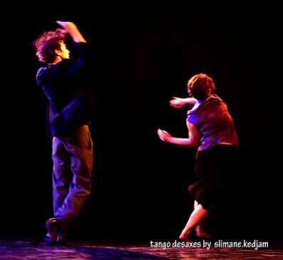 Brigitte Negro et Jorge Crudo Copyright : Slimane Kedjam