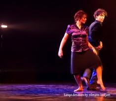 Brigitte NEGRO Jorge CRUDO Copyright : Slimane Kedjam